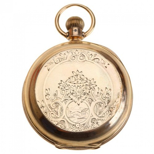 Peoria Watch Co. Grade  Pocket Watch Image