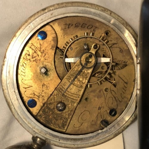 U.S. Watch Co. (Marion, NJ) Grade  Pocket Watch Image