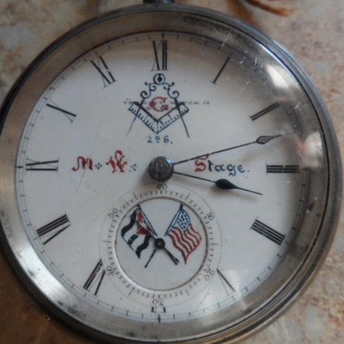 Tremont Watch Co. Grade Unknown Production Pocket Watch Image