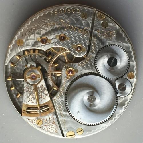 Elgin Grade 153 Pocket Watch Image