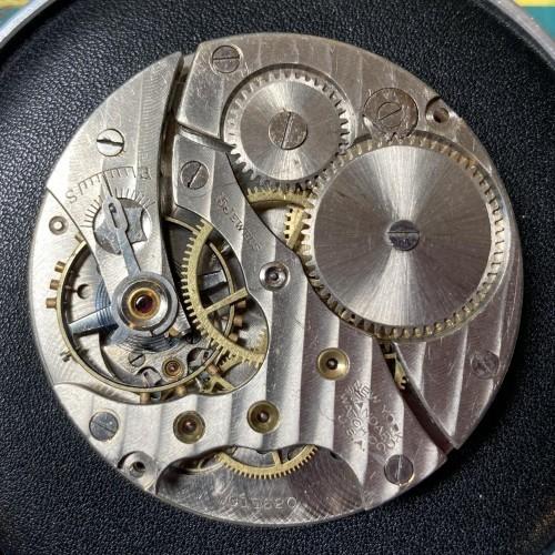 New York Standard Watch Co. Grade 1597 Pocket Watch Image