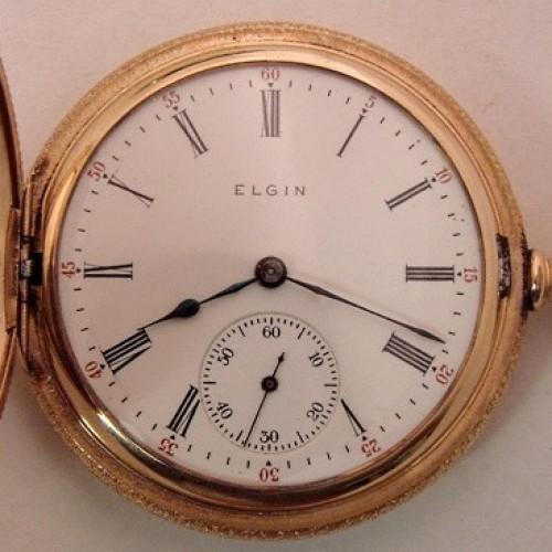 Elgin Grade 339 Pocket Watch Image