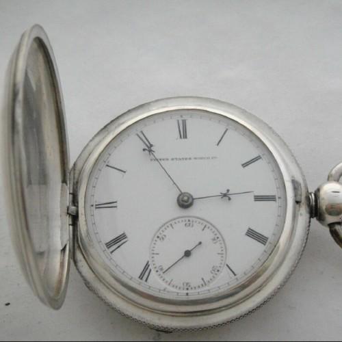 U.S. Watch Co. (Marion, NJ) Grade Fayette Stratton Pocket Watch