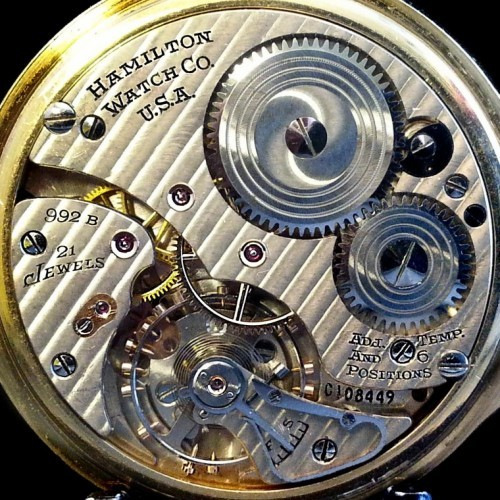 Image of Hamilton 992B #C108449 Movement