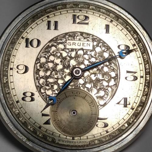 Gruen Watch Co. Grade 716 Pocket Watch Image