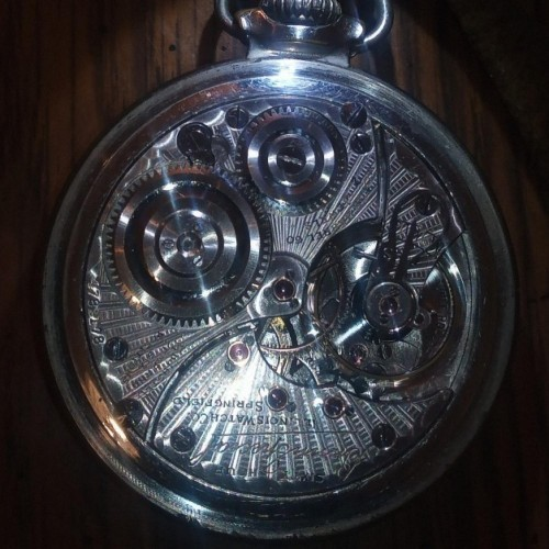 Illinois Grade 907 Pocket Watch Image