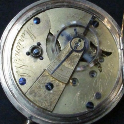 U.S. Watch Co. (Marion, NJ) Grade Asa Fuller Pocket Watch Image