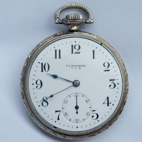 New York Standard Watch Co. Grade Standard Pocket Watch Image