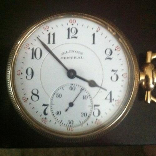 Illinois Grade 606 Pocket Watch Image