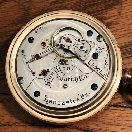 Hamilton Grade 930 Pocket Watch Image
