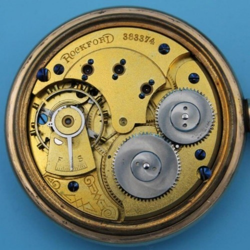 Rockford Grade 113 Pocket Watch Image