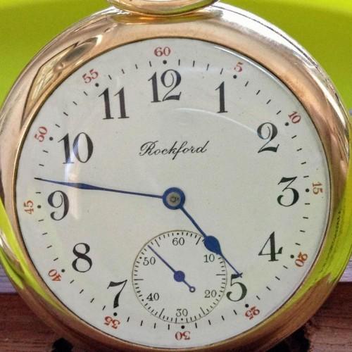 Rockford Grade 365 Pocket Watch Image