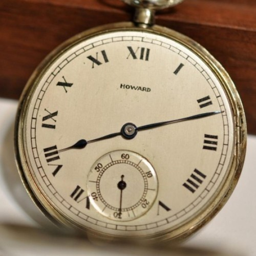 Image of E. Howard Watch Co. (Keystone) Series 6 #1304573 Dial