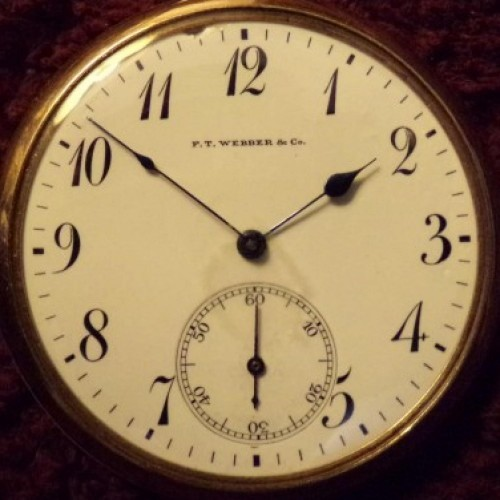 Rockford Grade 355 Pocket Watch Image