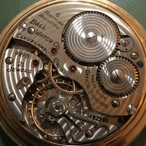 Ball - Hamilton Grade 999B Pocket Watch Image