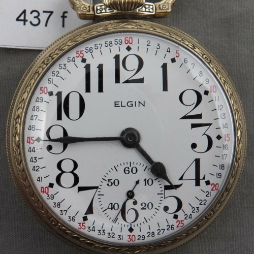 Elgin Grade 388 Pocket Watch Image