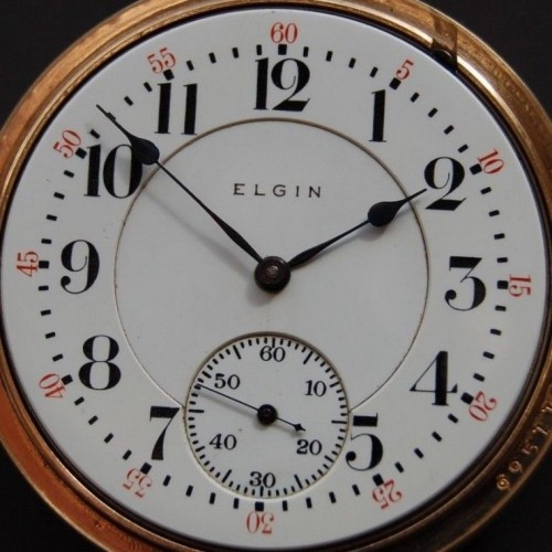 Elgin Grade 270 Pocket Watch Image