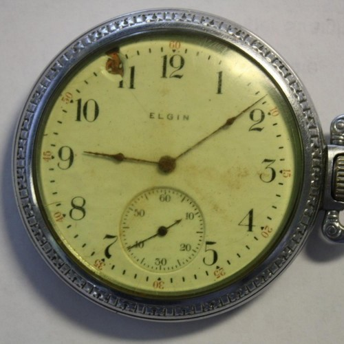 Elgin Grade 241 Pocket Watch Image