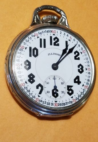 Illinois Grade Sangamo Special Pocket Watch Image