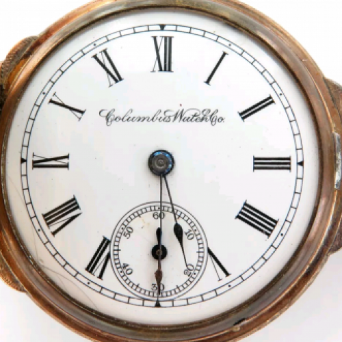 Image of Columbus Watch Co. 20 #325713 Dial