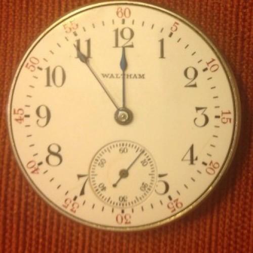Waltham Grade No. 100 Pocket Watch Image