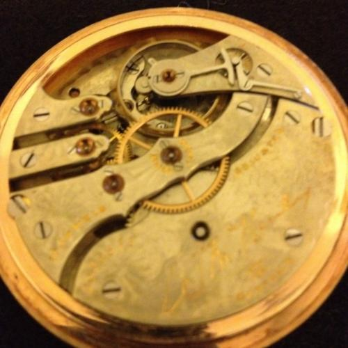 Hampden Grade Wm. McKinley Pocket Watch