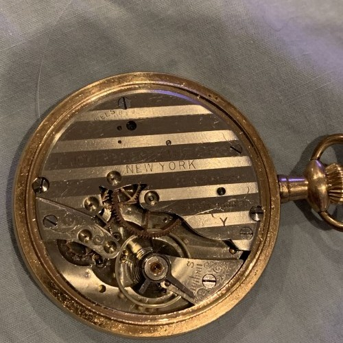 Knickerbocker Watch Co. Grade Unknown Pocket Watch Image