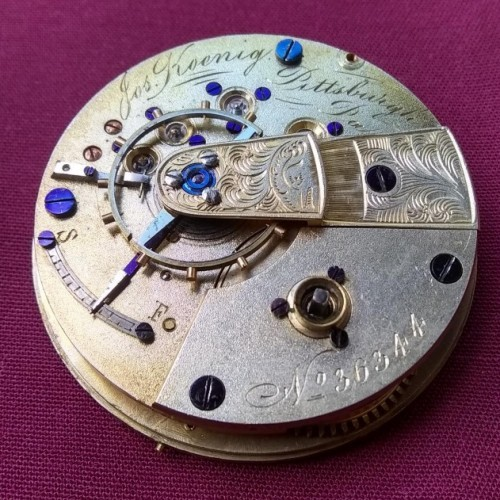 Swiss American Imitation Grade  Pocket Watch Image