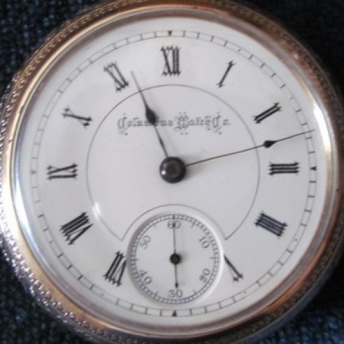 Columbus Watch Co. Grade 94 1/2 Pocket Watch Image