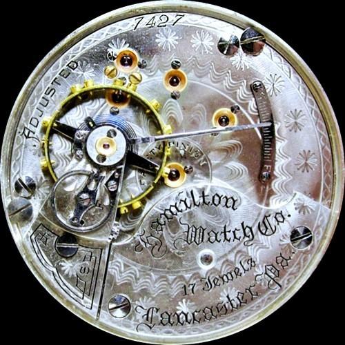 Hamilton Grade 937 Pocket Watch Image