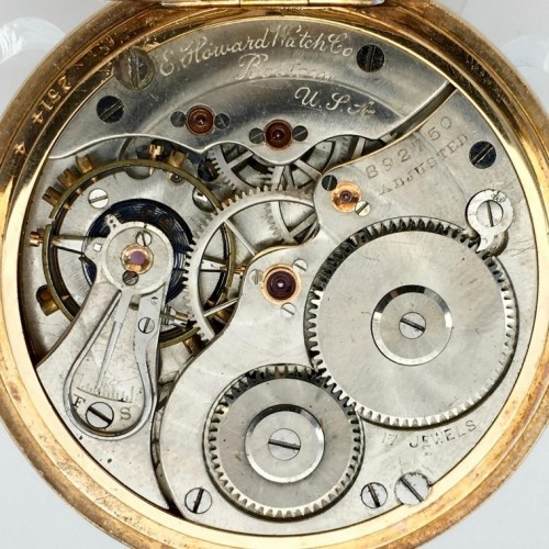 Image of E. Howard Watch Co. (Keystone) Series 3 #892750 Movement