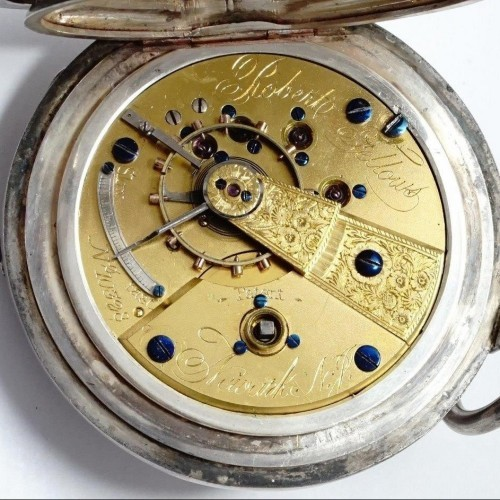 Newark Watch Co. Grade Robert Fellows Pocket Watch Image