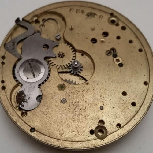 Hampden Grade No. 110 H (in flag) Pocket Watch Image