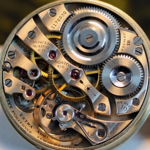 Image of E. Howard Watch Co. (Keystone) Series 10 #1170930 Movement