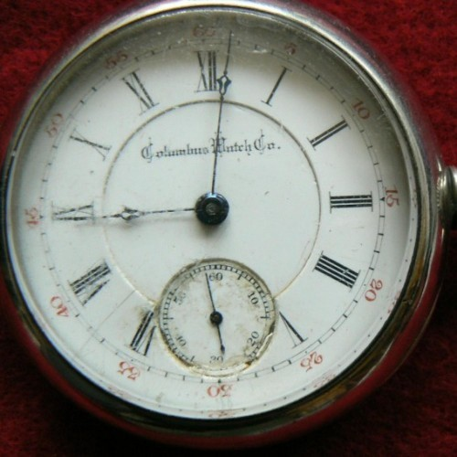Columbus Watch Co. Grade 27 Pocket Watch Image