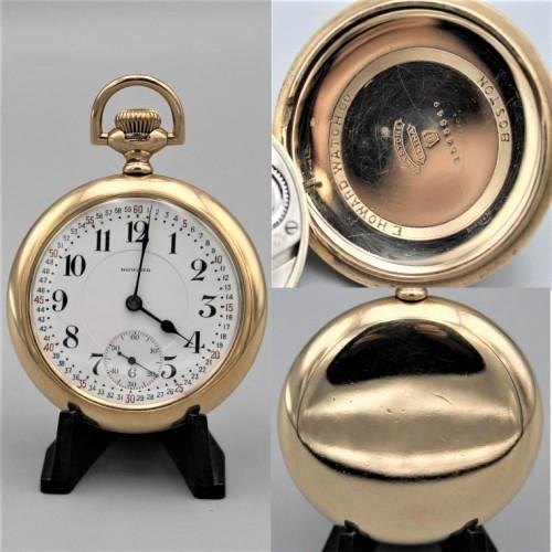 E. Howard Watch Co. (Keystone) Grade Series 0 Pocket Watch Image