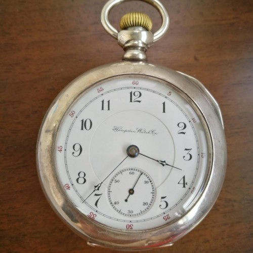 Hampden Grade No. 69 Pocket Watch Image