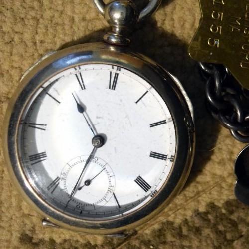 American Watch Co. Grade Broadway Pocket Watch Image