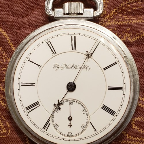 Elgin Grade 336 Pocket Watch Image