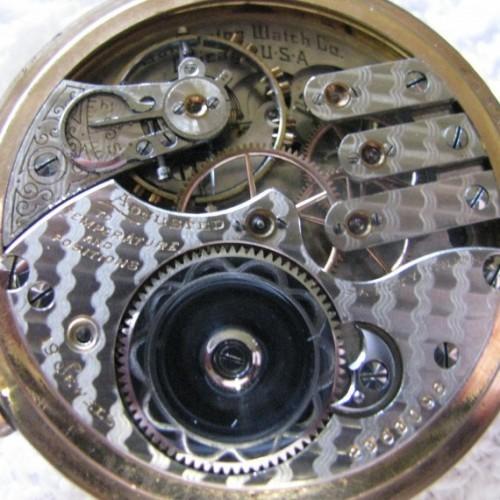 Illinois Grade 185 Pocket Watch Image