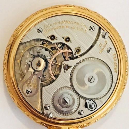 Illinois Grade 604 Pocket Watch Image