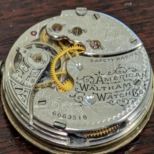 Waltham Grade No. 64 Pocket Watch Image