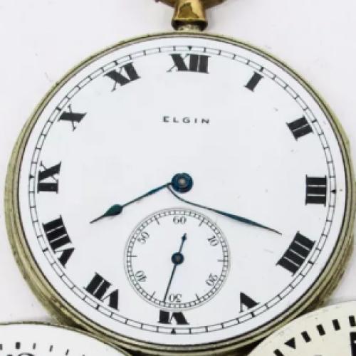 Elgin Grade 358 Pocket Watch Image