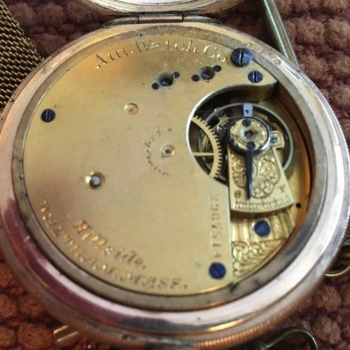 Waltham Grade Hillside Pocket Watch Image