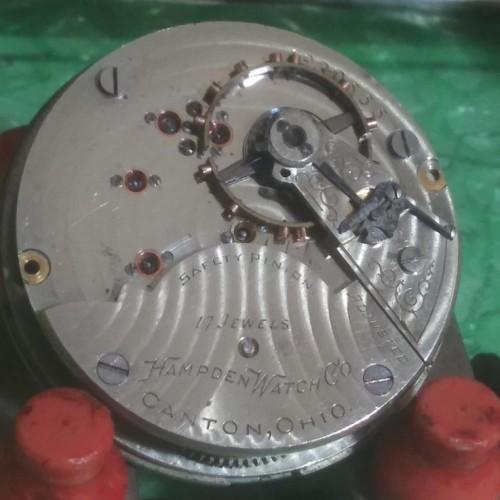 Hampden Grade 3 Ball Pocket Watch Image