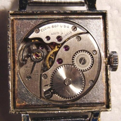 Elgin Grade 687 Pocket Watch Image