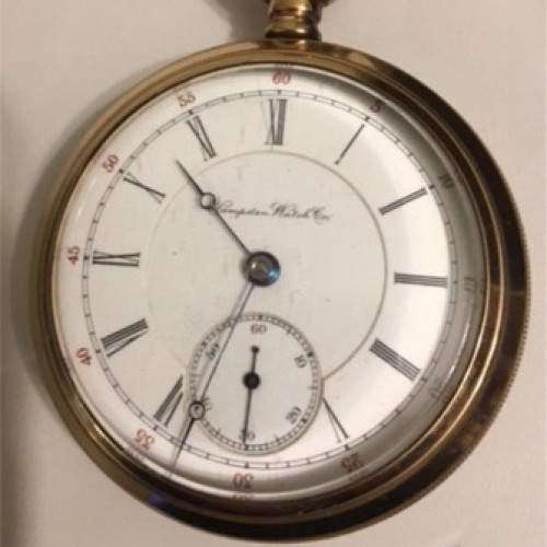 Hampden Grade Special (Adjusted) Pocket Watch Image