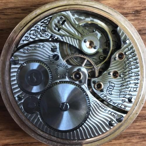 South Bend Grade 215 Pocket Watch Image