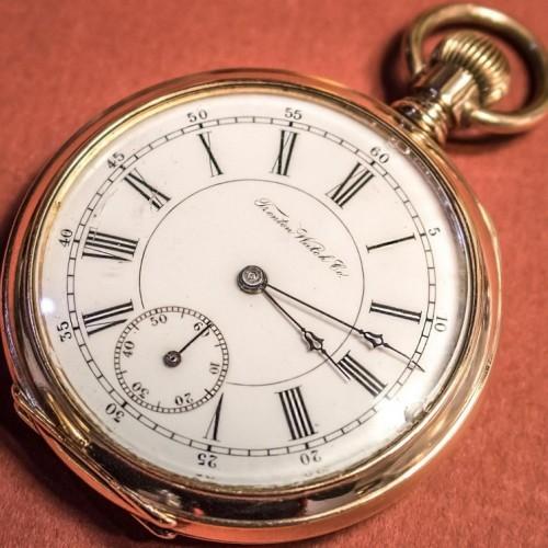 Trenton Watch Co. Grade Convertible Pocket Watch Image