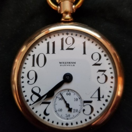 Image of Waltham No. 645 #22054519 Dial